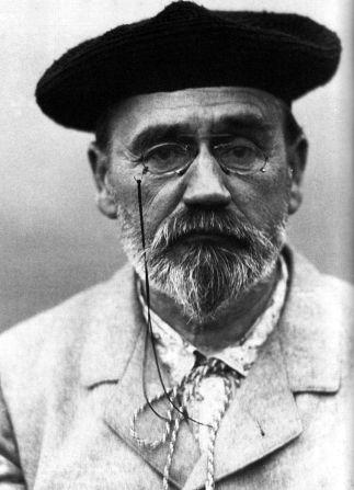 Emile Zola, Selfie, 1902
