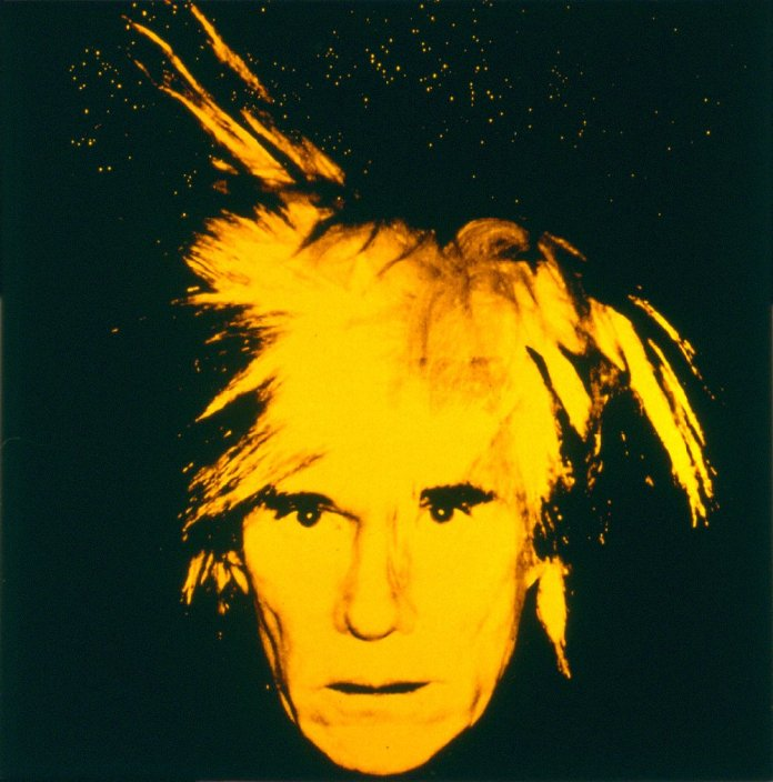 Andy Warhol, Self-Portrait with Fright Wig