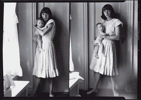 Diane Arbus, Self-Portrait with Child