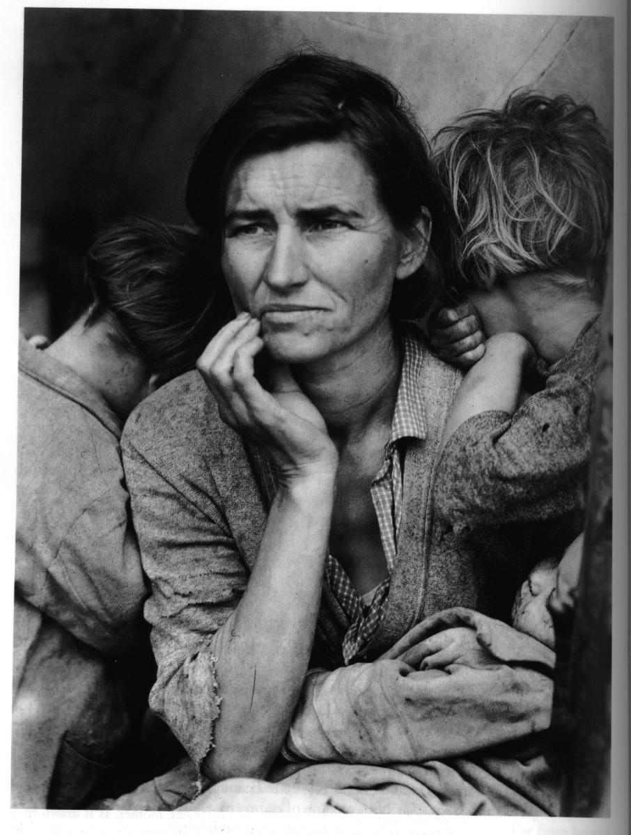 100 Days of Art - Day 7: Dorothea Lange