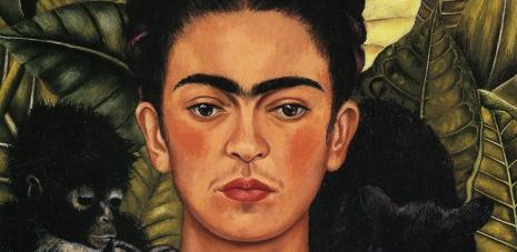 Kahlo, Self-Portrait with Hummingbird