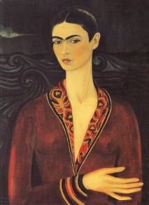 Kalho, Self-Portrait in a Velvet Dress