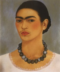 Self-Portrait with Necklace, 1933