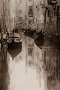 Stieglitz, Venetian Canal -- a little Canaletto-like, no?