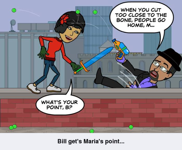 Bill and Maria discuss equality