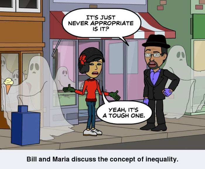Bill and Maria discuss Prejudice