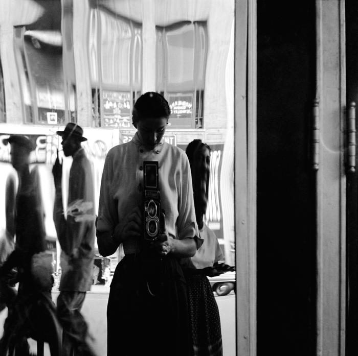 Photo by Eve Arnold, Self-portrait (perhaps unknowingly inspiring Vivian Maier)