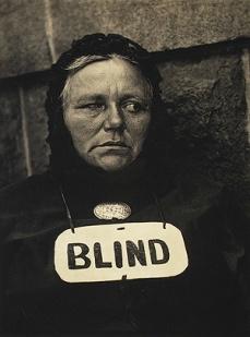 """Paul Strand, """"Blind,"""" 1916"""