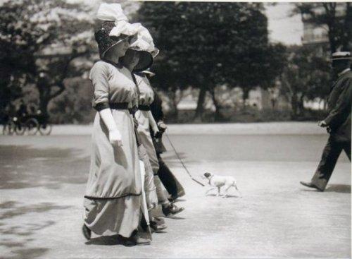 "Lartigue, ""Avenue duBois de Boulogne,"" Paris 1911"