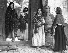"©Aperture Foundation Inc., Paul Strand Archive , ""Women of Santa Anna, Lake Pátzcuaro, Michoacán,"" 1933."