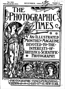 One of the photographic journals of the day - 1898 (from Google)