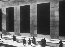 "Paul Strand, ""Wall Street,"" perhaps his most well-known piece"
