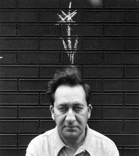 Aaron Siskind, Self-portrait