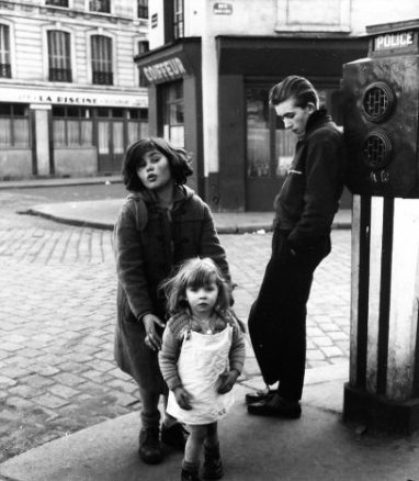 "Doisneau, ""Les Enfants de la Place Hebert,"" Paris"