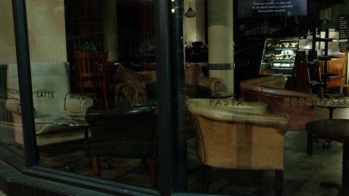 Sleeping Coffee Shop