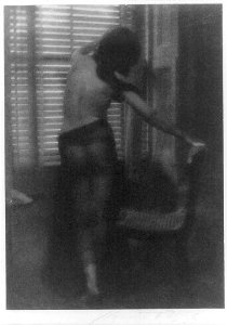 "Clarence Hudson White, ""La Curieuse,"" 1907"
