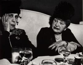Lisette Model, Fashion Show, Hotel Pierre, New York, c. 1940-1946