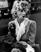 "Lisette Model, ""Woman with Veil,"" San Francisco, 1947"