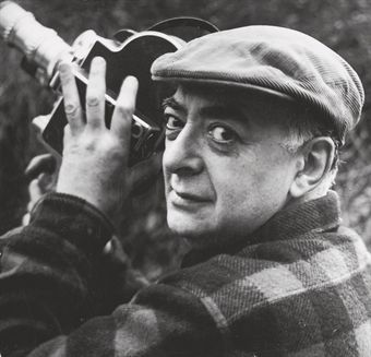 Brassaï, self-portrait, ca. 1955