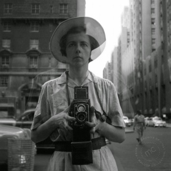 Vivian Maier selfie. Coincidence? Maybe.