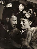 """Lisette Model, """"Sammy's Bar,"""" NYC, ca. 1944"""
