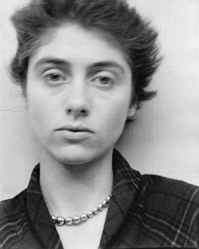 Diane Arbus, portrait by Allan Arbus, 1949