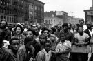 Bruce Davidson, Malcolm X Rally in Harlem, 1963
