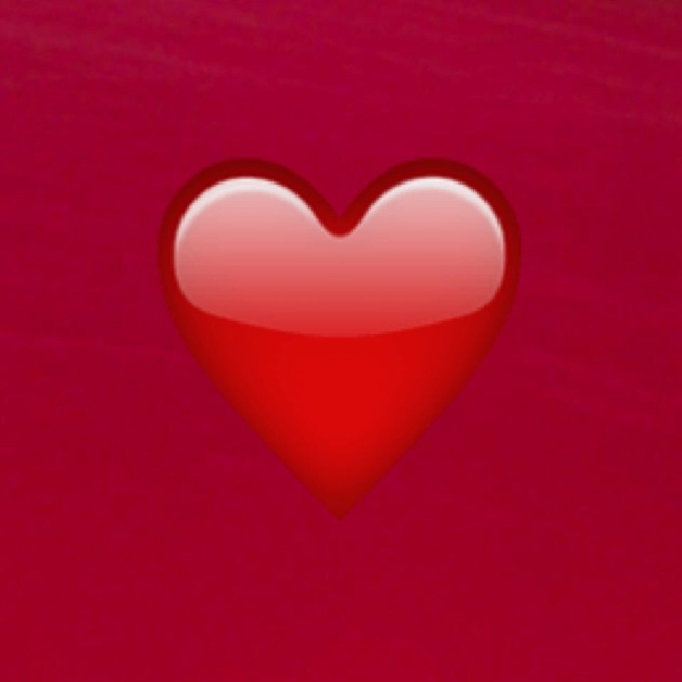 Red Square Heart