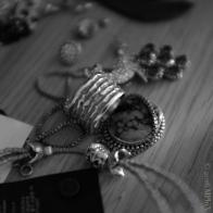 Thumb Ring and Peacock Brooch_MPHIX