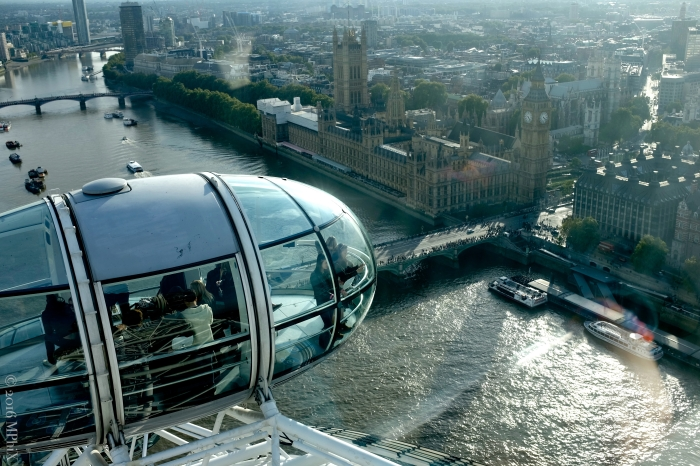 View from the top of London Eye_MPHIX
