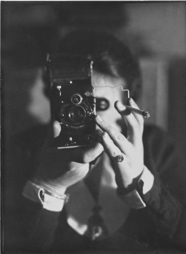 Self-portrait with cigarette, Germaine Krull