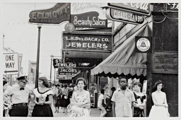Robert Frank, Main Street -- Savannah, Georgia, 1955