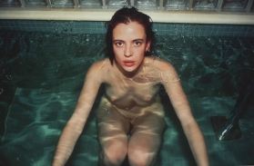 """Amanda Ooms at the Sauna,"" Hotel Savoy, Berlin, 1993, Nan Goldin"