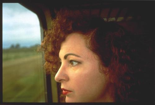 Self-Portrait on the train, Germany 1992 Nan Goldin