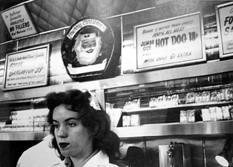 Diner, The Americans, Robert Frank, 1955-1956