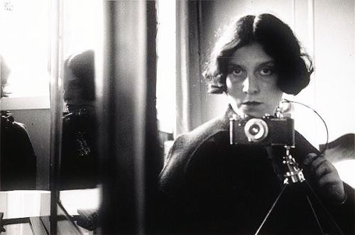 Self-Portrait in Mirrors, 1931, Germany, Ilse Bing