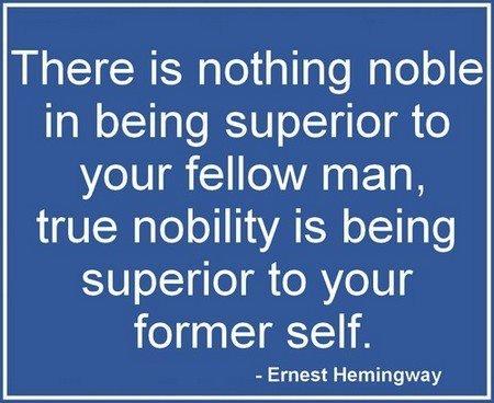 "Hemingway says, ""STFU."""