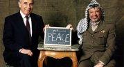 Shimon Peres, (left) former Israeli President, Nobel Peace Prize laureate, 93