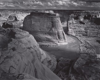 """View of Valley from Mountain, """"Canyon de Chelly"""" National Monument, Arizona"""