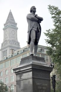 """Samuel Adams,""1880, Faneuil Hall Plaza, Boston"