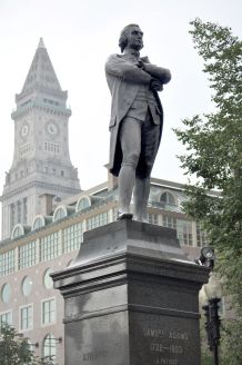 """Samuel Adams,""1880, Faneuil Hall Plaza, Boston"